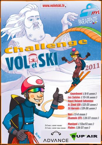 Tecnicamente deveria ter já começado o Vol et Ski edição 2011, um tour de eventos dedicados ao mundo do speedride, mas por causas climáticas desfavoráveis a organização teve que cancelar a primeira etapa, que estava...