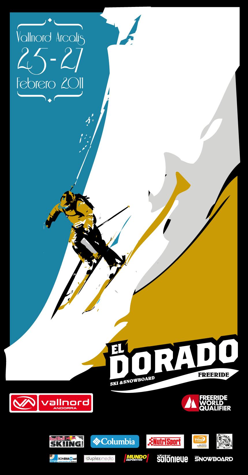 O El Dorado Freeride é o mais tradicional evento de freeride do sul da Europa e será disputado na parede Arcalís, localizada perto da esqui área de Vallnord, em Andorra. Décima quarta edição desta competição...