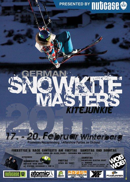 Atualmente as condições climáticas estão atrapalhando bastante os eventos de snowkite na Alemanha. À quase uma semana da primeira edição do German Kitejunkie Snowkite Masters, programado para começar no dia 17 e vai até o...
