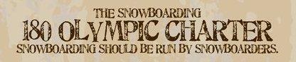 Kjersti Buass e Terje with the Snowboarders 180 Olympic Charter No começo de abril 2011 o International Olympic Committee (IOC) deverá tomar a decisão definitiva sobre aquele polêmico assunto: se inserir o SlopeStyle (SS) como...