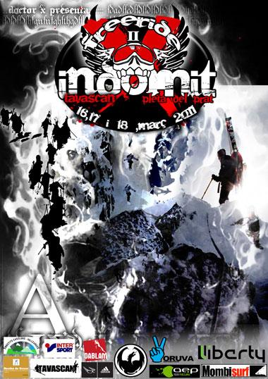 ##(16/03/2011) UPDATE –> A edição 2011 do Indomit Freeride, organizado pela crew do DoctorX está cancelada por causa das péssimas condições do clima e do elevado perigo de avalanches. Não é prevista uma data substitutiva...