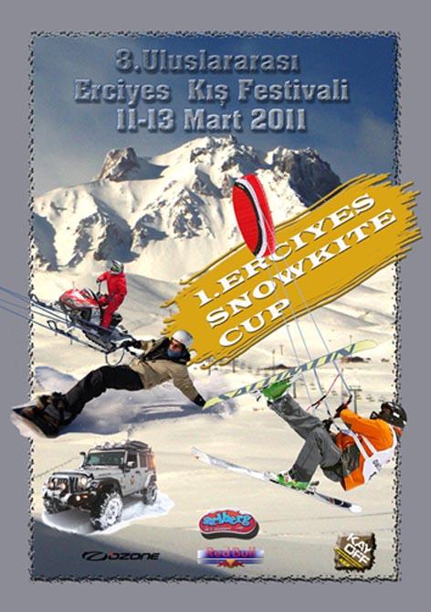 Está para começar o primeiro evento na Turquia dedicado ao snowkite: do dia 11 até 13 de março, perto da cidade de Kayseri (TUR) se disputará o primeiro Snowkite Festival. O playground será o Monte...