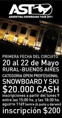 O AST apresenta a primeira etapa do circuito 2011: o Urban Big Air de Buenos Aires (ARG) que, como todos os anos, acontece na cidade de Buenos Aires (ARG) em ocasião do Salon Internacional de...