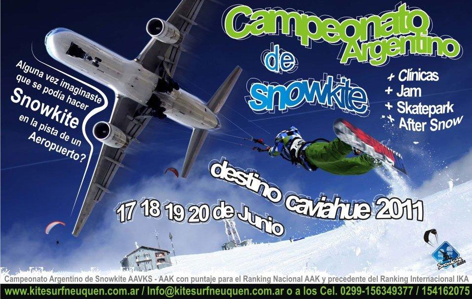 Os esforços da Associação Argentina de Snowkite (AASK) nas temporadas invernais passadas e focados em divulgar o snowkite nas neves da Patagônia estão começando a dar os primeiros resultados. Além do imperdível Snowkite Jam Festival...