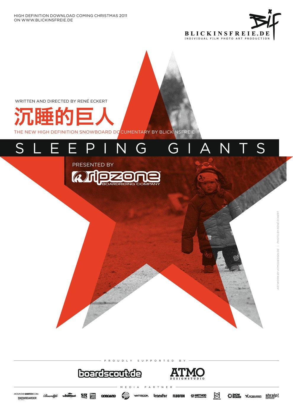 Sleeping Giants é o primeiro documentário de snowboard realizado em crowdfunding e que foca principalmente sobre o Nanshan Open Snowboard: um evento promovido pela TTR que se realiza no Mellow SnowPark da ski area de...