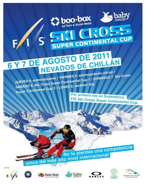 É de alguns dias atrás esta fantástica notícia que envolve o cenário do esqui na modalidade de SkiCross a nível sul-americano, mas merece toda a atenção enquanto é uma inédita oportunidade para o nosso continente...