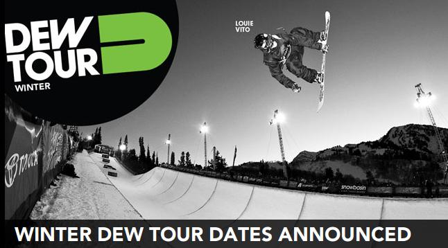 O Winter Dew Tour acaba de comunicar as datas previstas para a quarta edição do circuito pela temporada invernal 2011/12 para as disciplinas de snowboard e freeski, nas modalidades de slopestyle (SS) e halfpipe (HP)....