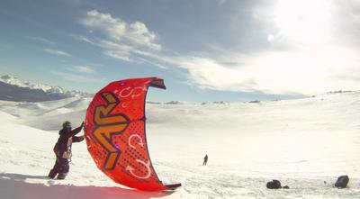 Mais um pico aprovado e homologado pela Associação Argentina de SnowKite (AASK) para andar de snowkite na Patagônia argentina. Convidados pelo centro de esqui La Hoya (ARG), em colaboração com a Secretaría de Deportes de...
