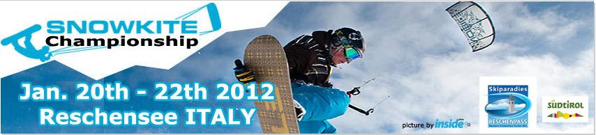 Foi comunicada a data prevista para a edição 2012 do Snowkite Championship que todos os anos acontece no sugestivo Lago di Resia (ITA) ou, em língua tirolesa, Reschensee (ITA). A princípio os melhores snowkiters do...
