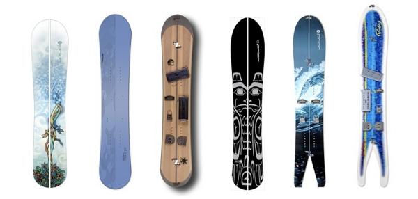 Cortesia: Splitboard.com Uma splitboard é praticamente um snowboard que pode ser dividido em duas partes, transformando a prancha em dois esquis com as mesmas (ou quase…) características daqueles usados para esqui alpino ou telemark e...