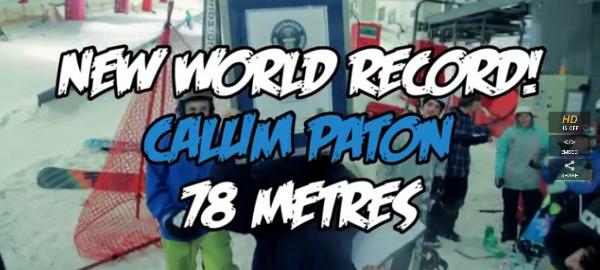 Cortesia: Whitelines Mag. Um novo nível foi alcançado nestes últimos dias no cenário mundial do snowboard: foi quebrado o recorde de rail slide com o snowboard, agora a marca é fixada em 78 metros. O...