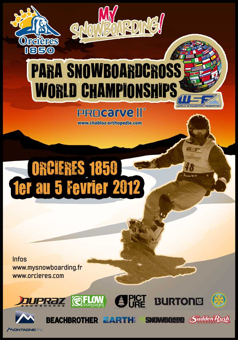 Nos dias 03 e 04 de fevereiro 2012, na bela localidade francesa de Orcières (FRA), os melhores para-snowboarders de todo o mundo reuniram-se para participar do Para-Snowboard World Championships 2012, um evento realizado pela primeira...
