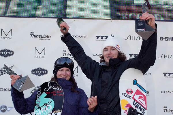 Cortesia: World Snowboard Federation (WSF) – Rider: Kelly Clark e Iouri Podladtchikov – Foto: Jeff Patterson O world tour 2011/12 promovido pela Ticket To Ride (TTR) em colaboração com a World Snowboard Federation (WSF) chegou...