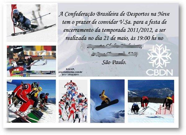 Hoje, dia 21 de maio, encerra oficialmente pela Confederação Brasileira de Desportos na Neve (CBDN) a temporada das competições na neve, válidas pelo período invernal 2011/12… e o balancete é impressionantemente positivo. Foram doze meses...