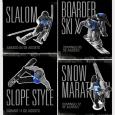 Nestes dias está rolando em Valle Nevado (CHL) o famoso Columbia Snow Challenge, uma competição dividida em quatro etapas que incluem uma prova de slalom, uma de skicross/snowboardcross (SBX), uma de slopestyle (SS) e uma...