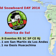 World Snowboard DAY (WSD) na América do Sul 2014 Apesar de estar sempre na eterna procura por neve, dia 30 de dezembro é para mim o icônico dia no qual faço a tal virada de...