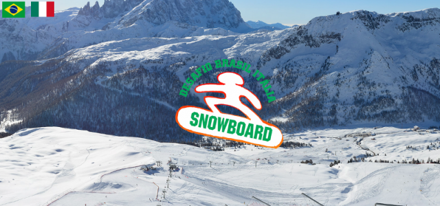 Cortesia: Desafio Itália Brasil de Snowboard A primeira edição do Desafio Itália Brasil de Snowboard realizou-se no inverno do 1997, um projeto que recebeu o apoio do Clube Paranaense de Ski e Snowboard, da Associação...