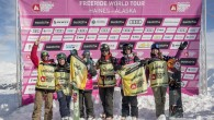 Com os resultados da etapa em Fieberbrunn (AUT) do Freeride World Tour (FWT), dos 50 atletas participantes só os top 28 atletas receberam o ticket para participar da clássica etapa no Alasca (EUA), além de...