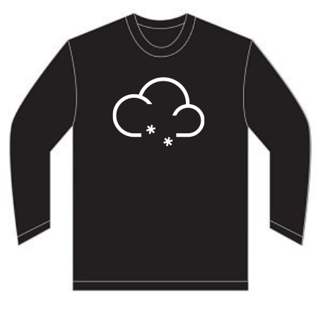 T-shirt Orgânica Snowaddicted - Mod003